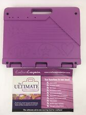 Ultimate Crafters Companion Purple All In One Scoring Tool for Crafters NO DVD