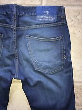 SCOTCH & SODA Mens RALSTON Slim Fit Jeans In See You Later Wash W31 L32