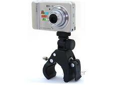 Bicycle Motorcycle Mount Holder supporto fotocamera per Panasonic Samsung Casio SIGMA