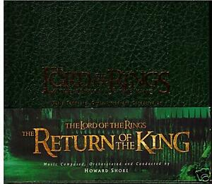 The-Lord-Of-The-Rings-Return-of-The-King-2003-Book-CD-amp-DVD-Special-Soundtrack-CD
