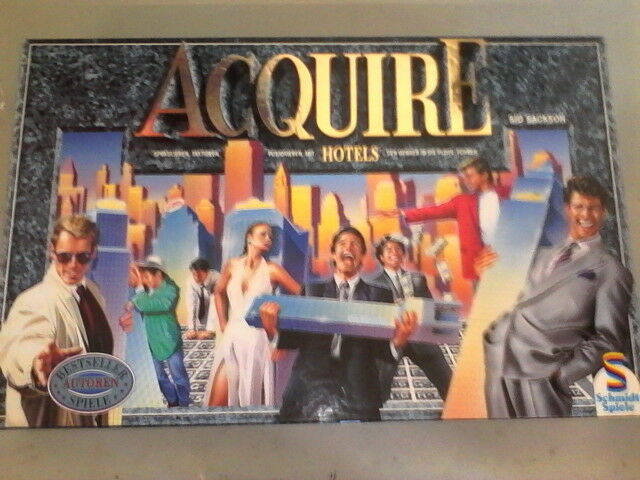 ACQUIRE splendid classic game HUGE & ultra luxuous SCHMIDT edition NEW