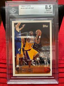 1996-1997-Topps-138-Kobe-Bryant-BGS-8-5-Rookie-RC-Los-Angeles-Lakers-HOF-GOAT