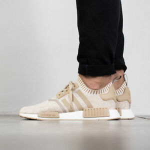 check out 52505 89a63 Details about Adidas NMD R1 PK Linen Khaki Size 12.5. BY1912. ultra boost
