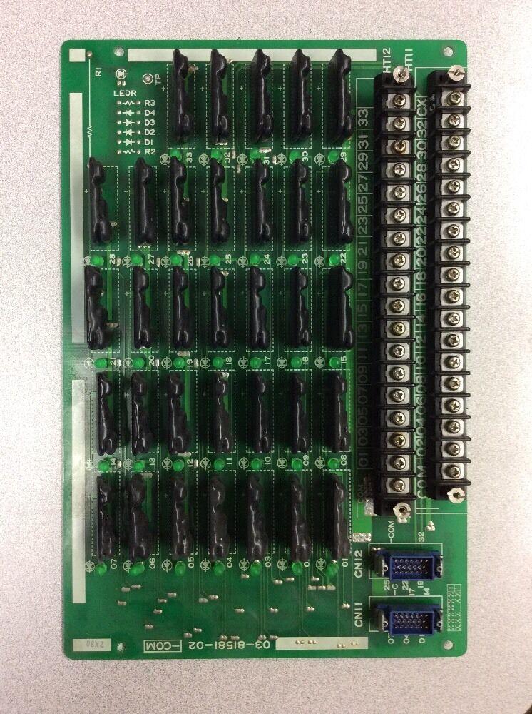 Muzak Mitsubishi Communication Board 03-81581-02
