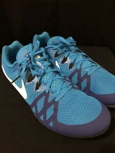 designer fashion 550fc 31094 Image is loading Nike-Zoom-Rival-M8-Blue-Track-amp-Field-