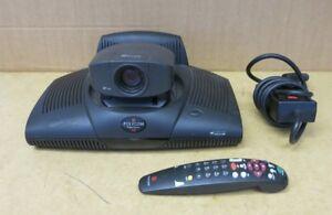 Polycom-ViewStation-14XX-Video-Conference-Station-G2201-08666-002-amp-Remote