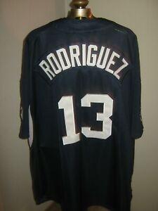 separation shoes 22e89 4de78 Details about New York Yankees ALEX RODRIGUEZ Jersey #-13 Men's 3-XL  (Stitched-On)