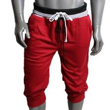 US Men Sport Sweat Pants Shorts Harem Dance Baggy Jogging Training Trousers XXL