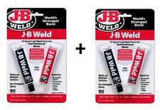 J-B Weld Steel Reinforced Epoxy x 2