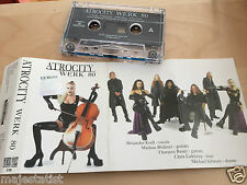 ATROCITY – Werk 80 MC tape RARE POLISH PRESS 1997