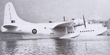 Short Seaford LongRange Patrol Bomber Aircraft Mahogany Wood Model Replica Small