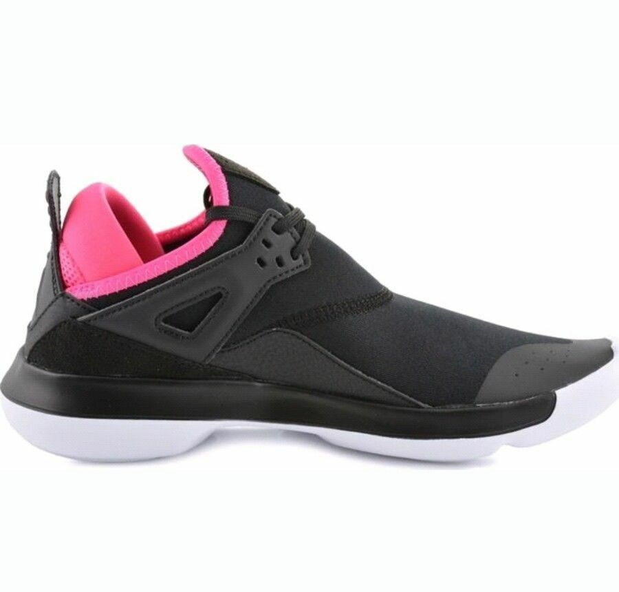 NIKE AIR JORDAN FLY 89 GG TRAINERS MEN SHOES SHOES SHOES BLACK PINK A4040-009 SIZE 9 NEW 4825a5