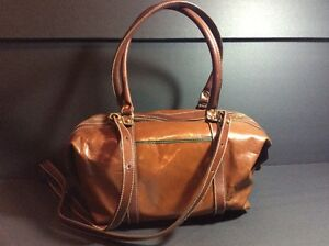 Image Is Loading Vintage Brahmin Top Handle Satchel With Detachable Shoulder