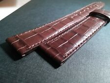 AWI International (Franck Muller Group) Watch Band 18mm/16mm BROWN with BROWN st