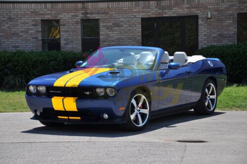 Gloss Racing Stripes Vinyl Wrap For Dodge Challenger Stripe Sticker 25FT 50FT