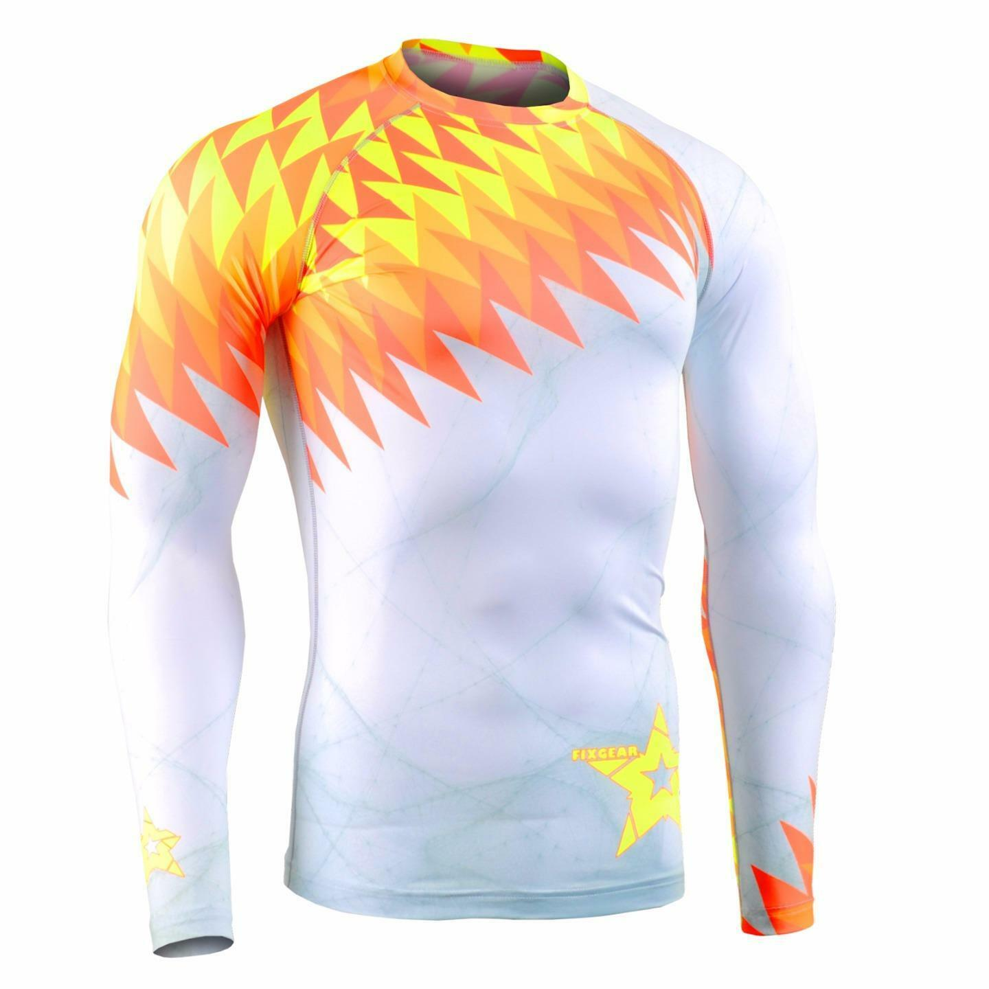 FIXGEAR CFL-F65 Compression Base Layer Shirt Sportswear Bodybuilding Workout GYM