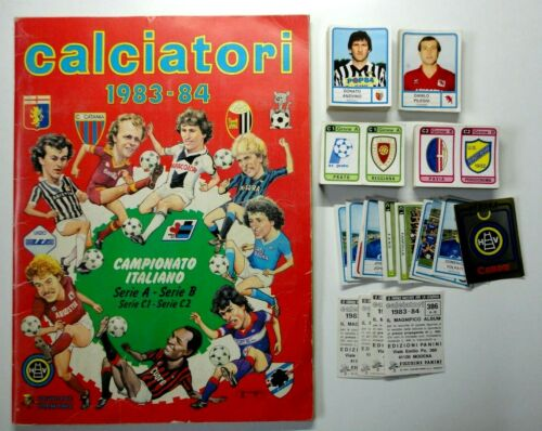 76 CALCIATORI PANINI 1983-84 Figurina-Sticker n FIORENTINA SQUADRA DX New