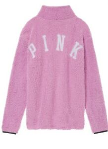 Out Ny Secret Sherpa S Pink Sold Zip Orchid Quarter Victorias ppw8xnq5r