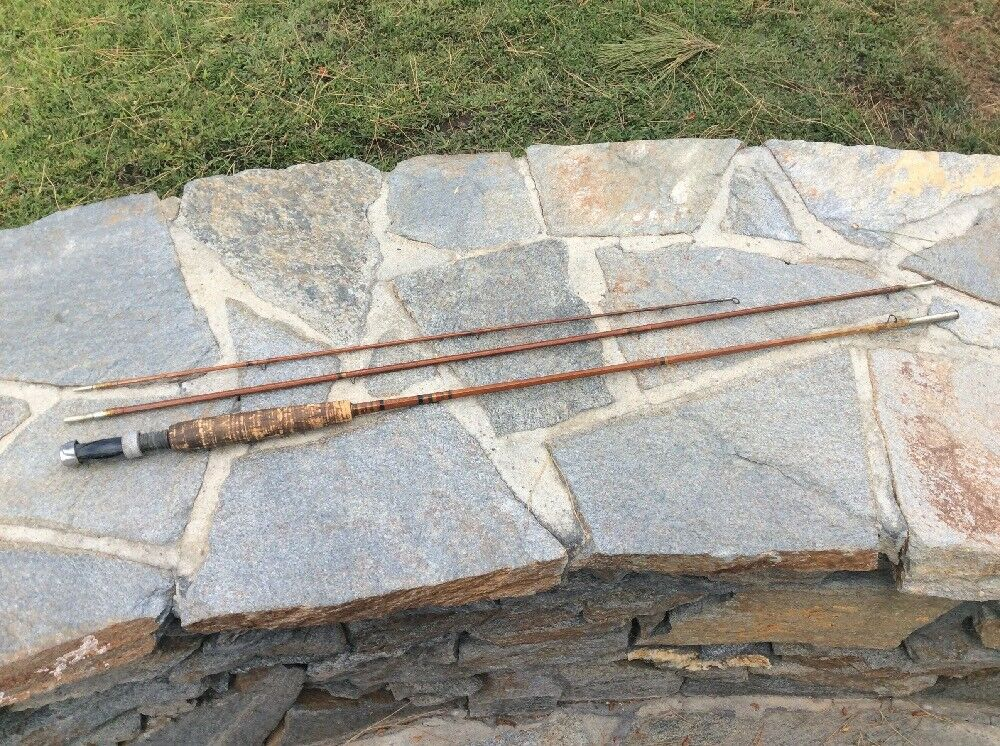 "H & I MAJESTIC  8'0"" Split Bamboo  Fly Rod  best fashion"