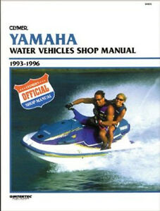 CLYMER - Official Shop Manual Yamaha 1993-1996 - Notice technique