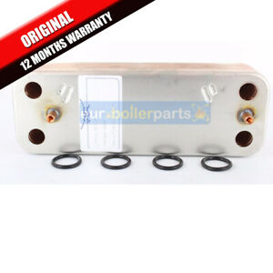 Potterton Gold 28HE DHW Domestic Hot Water Heat Exchanger Seals 248048 7225723