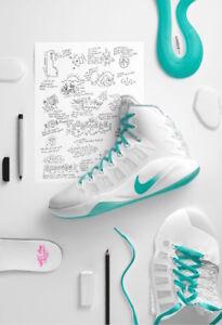 2016 Nike Hyperdunk  LMTD EDD 869484-999 100% authentic Delle Donne PE size 10.5