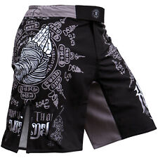 FIXGEAR FMS-H2 MMA Graphic Shorts for Men Workout Training Fitness