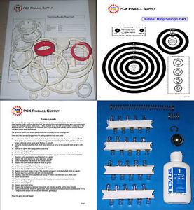 1970 Bally Trail Drive pinball rubber ring kit