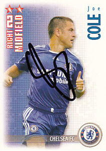 Chelsea-F-C-Joe-Cole-Hand-Signed-06-07-Premiership-Shoot-Out-Card