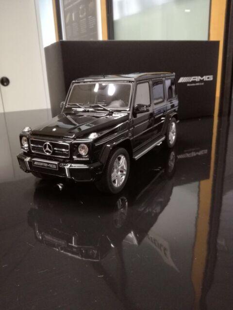 Mercedes Benz, G63 AMG, 1:18 Modell, Limitiert 1500stk., Obsidianschwarz