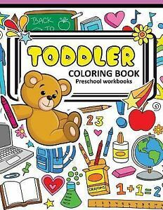Details about Toddler Coloring Books Preschool Workbook : A Book for Kids  Age 1-3, Boys or ...