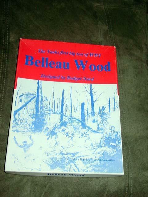 Historical Historical Historical Alternatives 1980 - BELLEAU WOOD game  The Yanks in WW1 - (UNPUNCHED) 423a69