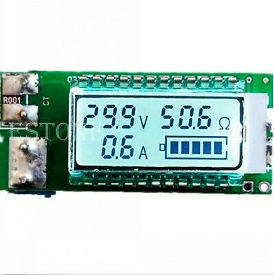 Lithium Li-ion battery tester led meter Voltage/Current/Capacity/ 18650 power
