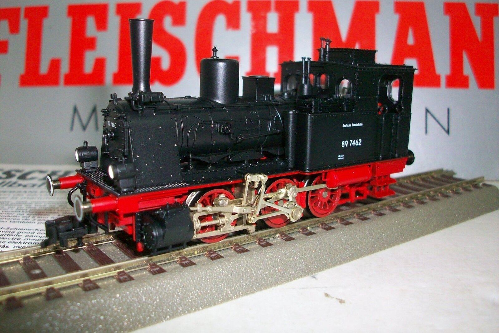 HO FLEISCHMANN DB 89 7462 / Locomotora vapor BR89, Edicion Especial 50 ANIV.