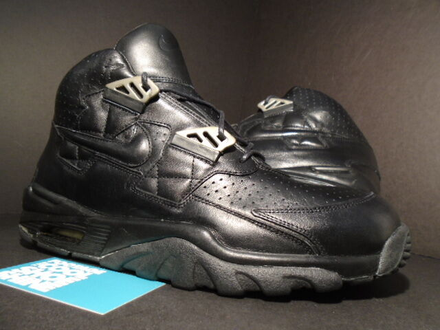 2001 Nike Air Max TRAINER 1 SC High LUX ITALY LEATHER schwarz 679082-001 DS Sz 8.5