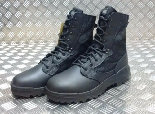 Combat Magnum Assault Army Amazon Patrol Desert Black Boots British Genuine 6 ngxPFw