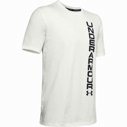 Under Armour UA Men/'s Overtime Short-Sleeve T-Shirt New White