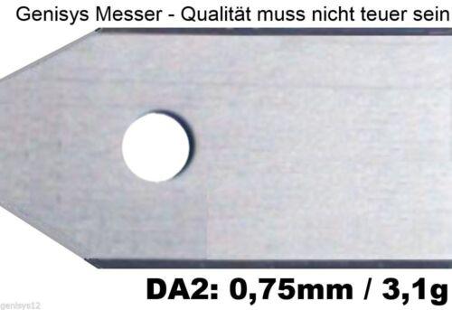 75mm Gardena mähroboter r40li//r70li Express!! 30 Coltello Extra Dick 3,1 g//0