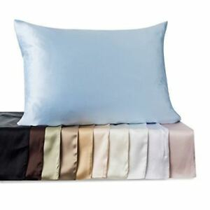 Kimspun-Natural-Pure-Mulberry-Silk-Pillowcase-Zippered-19-momme-FREE-SHIPPING