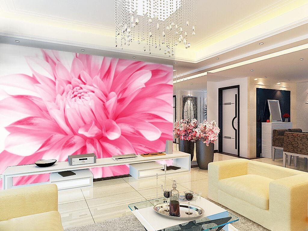 3D Blooming Flower 177 Wallpaper Decal Dercor Home Kids Nursery Mural  Home