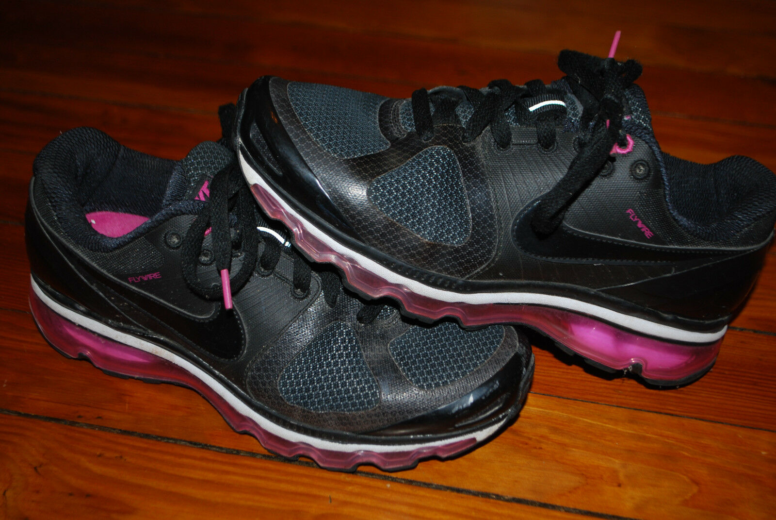 Women's Nike Air Max 2010 Flywire Wireberry Wireberry Wireberry Running shoes (9) 386374-007 399296
