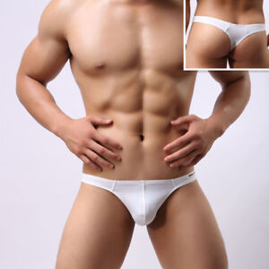 BRAVE-PERSON-New-Thongs-Sexy-Underwear-Men-039-s-Fashion-Briefs-Bikini-T-back-S-XL