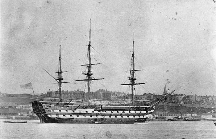 Plano de edificio HMS implacable modellbau plan de modelismo