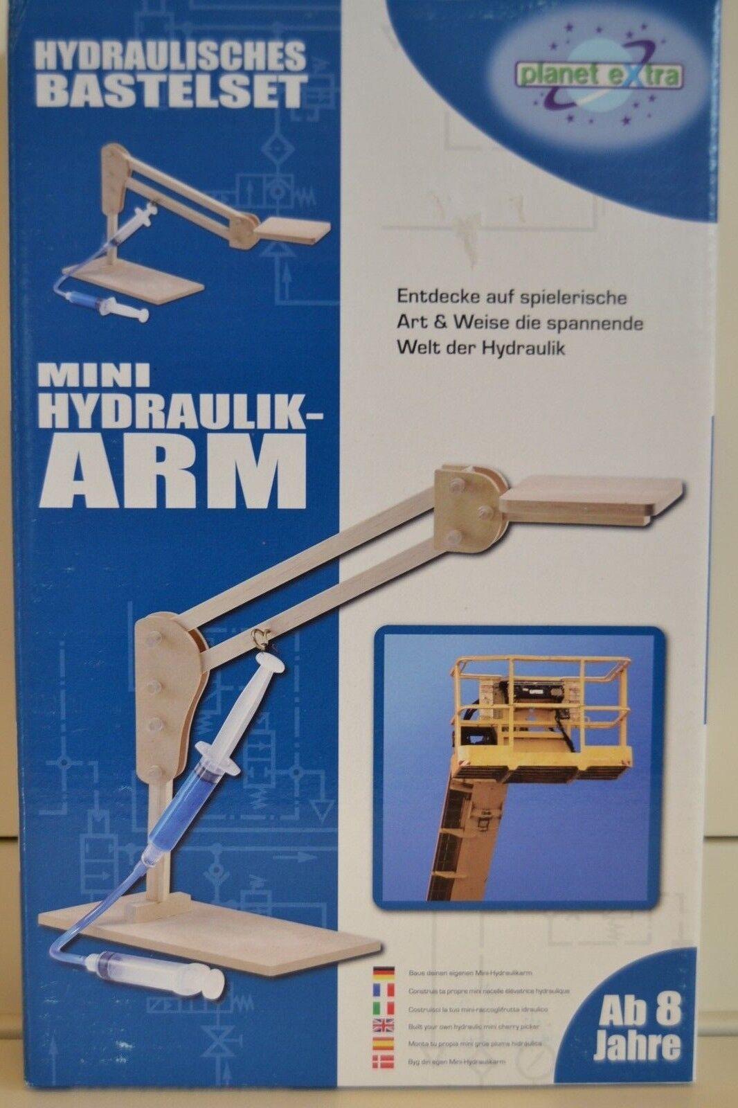 20 x  Hydraulisches Bastelset   Klassensatz   Mini-Hydraulik-Arm      NEU&OVP