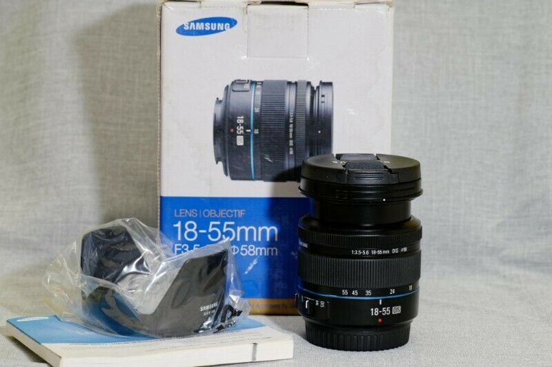 Samsung 18-55mm f/3.5-5.6 OIS NX lens for Samsung mirrorless camer