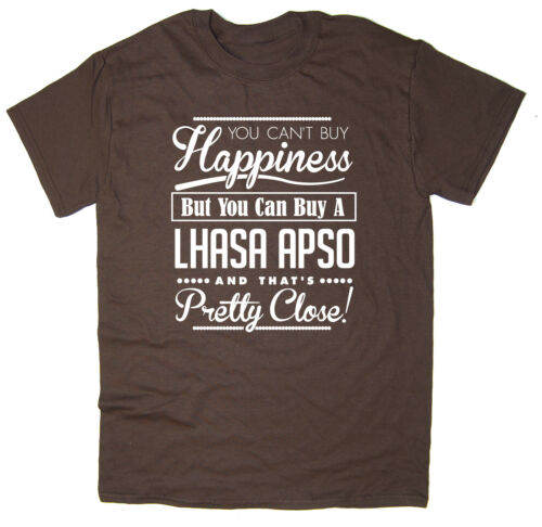 You Can/'t Buy Happiness But You Can Buy A Lhasa Apso funny dog tee T-shirt
