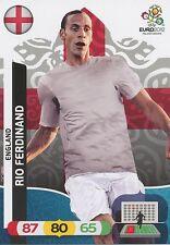 RIO FERDINAND # ENGLAND CARD PANINI ADRENALYN EURO 2012