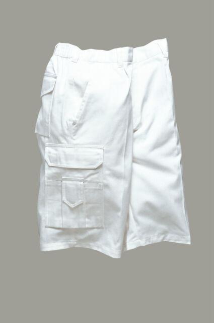 Pantaloncini Portwest bianchi da imbianchino S791