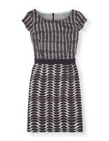 BODEN Brand New Women's  Kensington Dress WH784  38% SILK RRP£99  12R   AQUA....