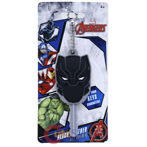 Marvel Black Panther Schlüssel Kappe PVC Schlüsselanhänger Gummi Protector